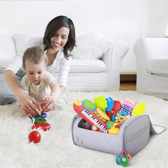 59S Baby Toy Storage Sterilizer Box 260nm UV Light Kill Germs in 59 Sec Protection From Viral Infection