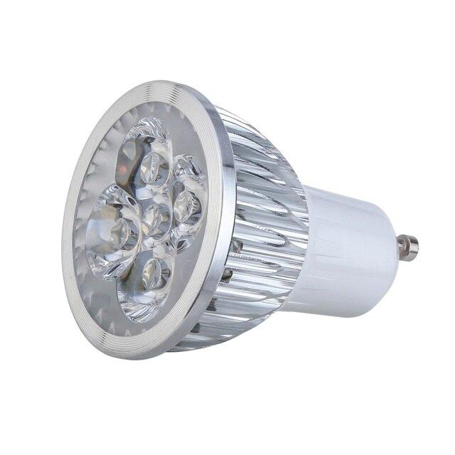 10 stücke Led lampe Lampe GU10 E27 3 Watt 4 Watt 5 Watt 220 V Kaltes ...