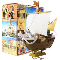 26cm One Piece Going Merry Pirate Ship Boat Model Grand Ship PVC Action Figure Collectible Model Toy Gift For Kids