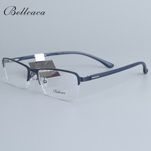 Bellcaca Spectacle Frame Men Eyeglasses Computer Myopia Optical Prescription Eye Clear Lens Glasses For Male Eyewear 1506