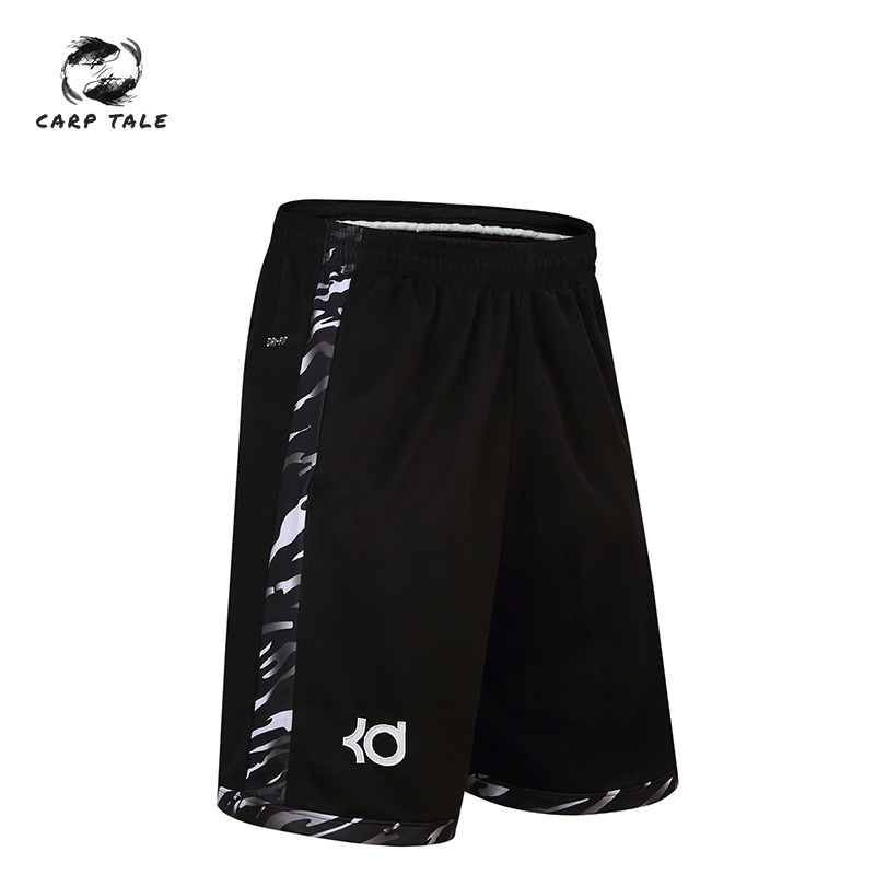 Factory Wholesale Sports Shorts Men's Over The Knee Basketball Pants Durant Shorts Running Fitness Shorts Five Pants Men