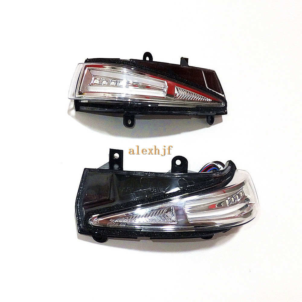 July King LED Rear-view Mirror Lights Case for Honda Civic 2008~2011; Yellow Side Turn Signals, Position Light DRL, Ground Lamp eemrke for toyota voxy 2007 2008 2009 2010 2011 2012 2013 side rear view mirror lights led drl turn signals