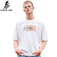 Pioneer Camp 2019 Men Hip Hop T Shirts European Tshirt Streetwear Summer Cotton Top Tees Short Sleeve Baggy clothes ADT906207