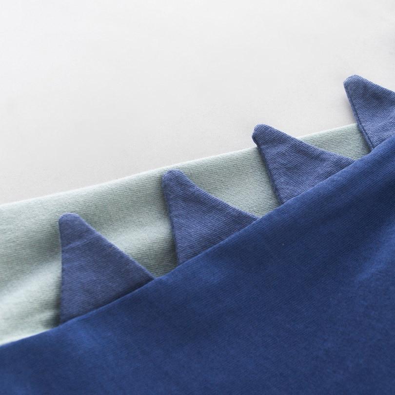 Купить с кэшбэком Cartoon Print Baby Boys Dinosaur T Shirt For Summer Infant Kids Boys Girls Lion T-Shirts Clothes Cotton Toddler Letter Tops