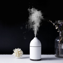 air purifier Aromatherapy Diffuser USB Ultrasonic Air Humidifier Mist Maker Aroma Essential Oil Diffuser with LED LightITAS3323A