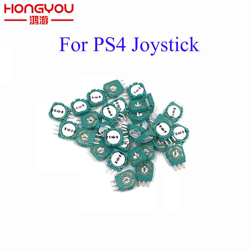 100 Pcs di Ricambio Analogico 3D Joystick Micro Mini Interruttore Asse Resistenze Per Playstation 4 PS4 Controller Guarnizione Per XBOX ONE