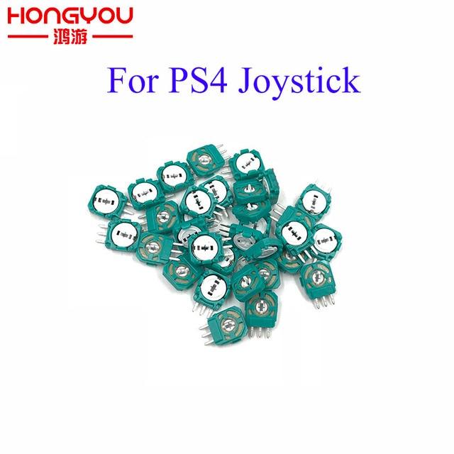 100 pièces de rechange analogique 3D Joystick Micro Mini interrupteur axes résistances pour Playstation 4 PS4 contrôleur joint pour XBOX ONE