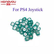 100 sztuk wymiana analogowe 3D Joystick Micro mini przełącznik rezystory osi dla Playstation 4 PS4 kontroler uszczelka dla XBOX ONE