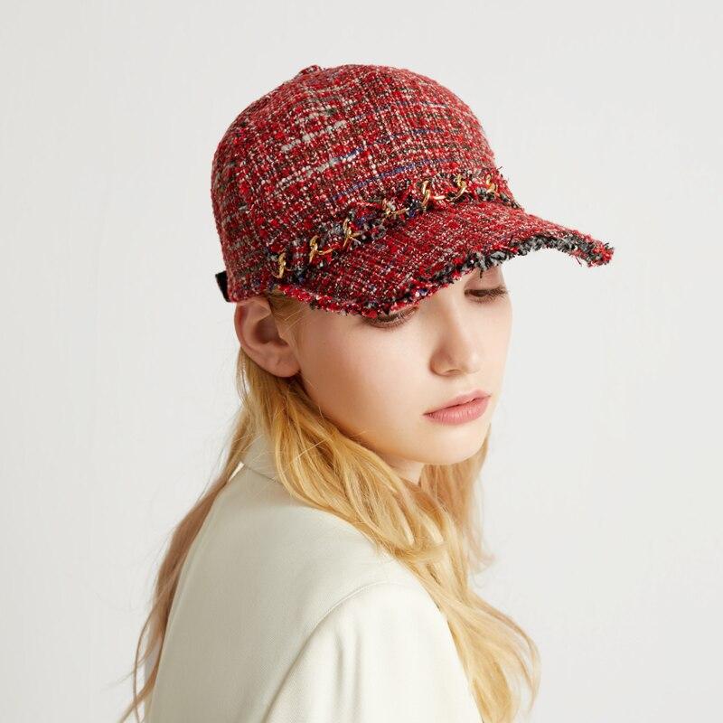 2019 real chapéu de pele de vison importado feminino boné de pele de luxo high end chapéu de pele natural senhoras inverno chapéu quente com tampão octogonal boné - 4