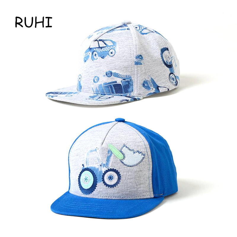 где купить 2018 New Spring Summer Kids Fashion Caps Children Boys Girls Casual Cotton Cartoon Baseball Caps Adjustable Hip Hop Cap BMZ35 по лучшей цене