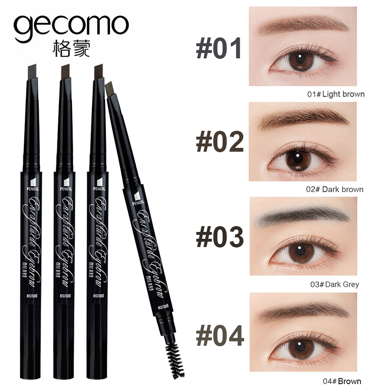 4 Colors Eyebrow Tattoo Pen Eyebrow Enhancer Tools Fine Sketch Liquid Eyebrow Pencil Eye Brow Pencil Long Lasting Cosmetics