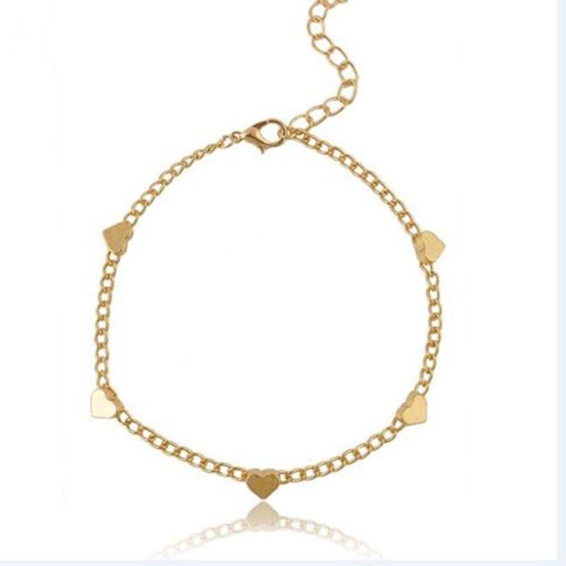 Heart Love Design Bracelet For Women Girls Summer Fashion Foot ...