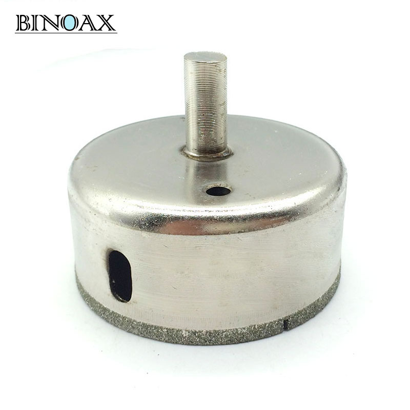 Binoax 70mm Diamond Coated Drill Drills Bit Hole Saw Core Marble Glass Granite Tools mabu by maria bk кожаные сандалии