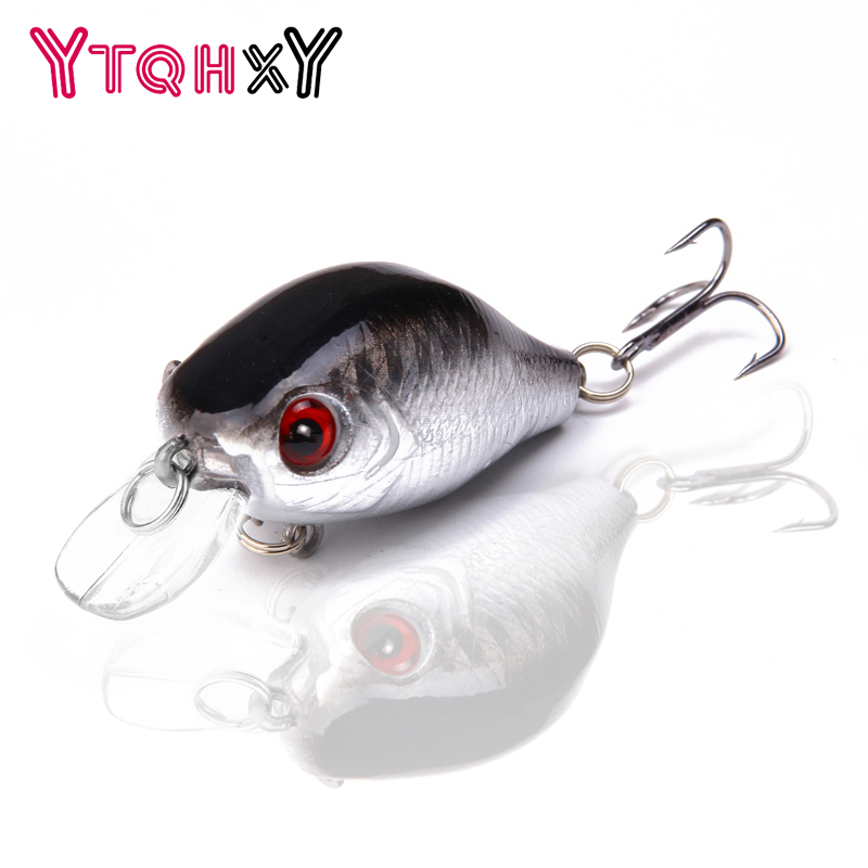 1PCS 5.5cm 9g pesca crankbait hard Bait tackle artificial lures swimbait fish japan wobbler Free shipping YE-76 24 colors for choose fishing lure minnow crankbait pencil lures wobbler pesca artificial swivels hard bait swimbait tackle