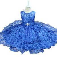 2017 New Summer Baby Girl Dresses Princess Kids Clothes Girls Lace Chiffon Dress Summer Dress For