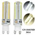 10 pçs/lote 220 V/110 V Smd3014 G9 Levou 9 W CONDUZIU a Luz do Milho Lâmpada Super brilhante Substituir Halogênio lâmpada Quente branco/Branco