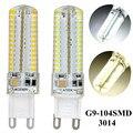 10pcs/lot 220V/110V Smd3014 G9 Led 9W LED Corn Light Bulb Super bright Replace Halogen Lamp Warm white/White