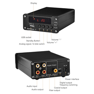 Image 3 - PJ.MIAOLAI SP3306AL APE Lossless Music Player HiFi Fever Digital Amplifier Optical Coaxial Digital Decoder Output Amplifier
