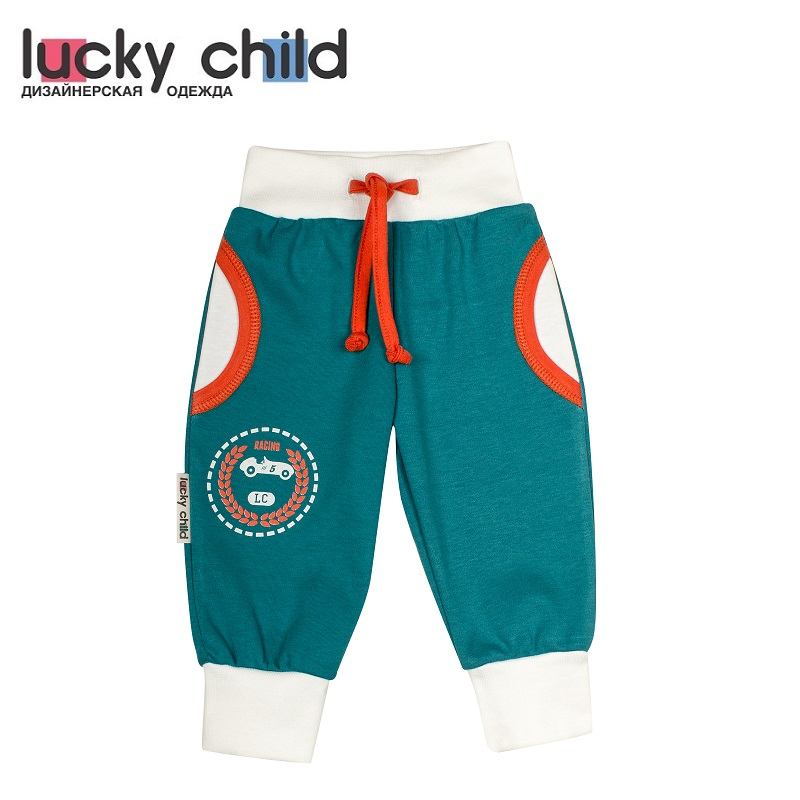 купить Pants Lucky Child for boys 21-11f (0M-18M) Leggings Hot Baby Children clothes по цене 370 рублей