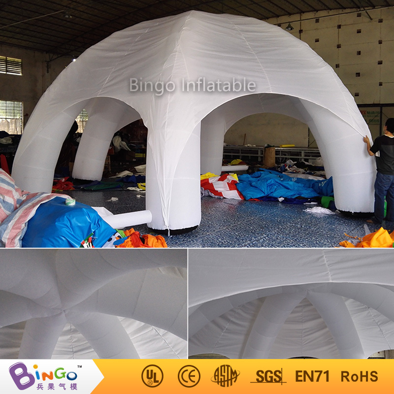 Free shipping 8 Meters dia Blow up white spider tent oxford nylon Inflatable c&ing canopy marquee toy tents for kids-in Toy Tents from Toys u0026 Hobbies on ... & Free shipping 8 Meters dia Blow up white spider tent oxford nylon ...