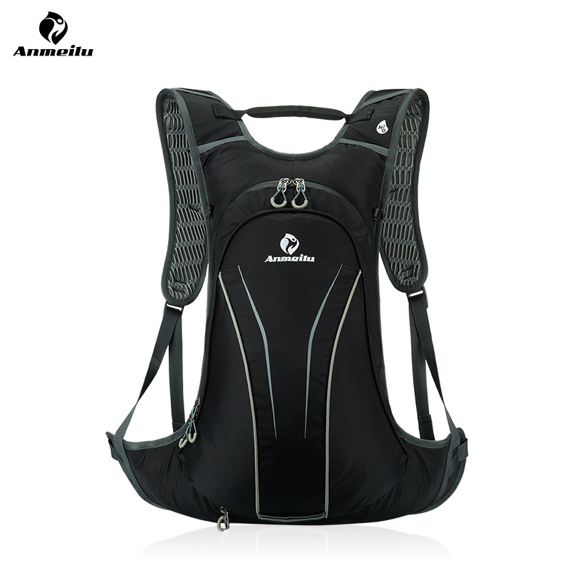 ANMEILU 20L Waterproof Sports Backpack ,Nylon Hiking Bicycle Hydration Backpack ,Outdoor Cycling Climbing Bag With Rain Cover cycling multi function outdoor sports backpack bike bag 22l motorcycle rucksack backpack bag with waterproof rain cover