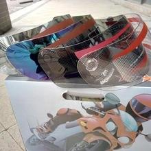 Бренд Malushun смотровой щиток мотоциклетного шлема линзы, лого Jorge Lorenzo шлем, полностью закрывающий лицо зеркальные защитные очки, Росси № 44 шлем анти-УФ линзы из поликарбоната