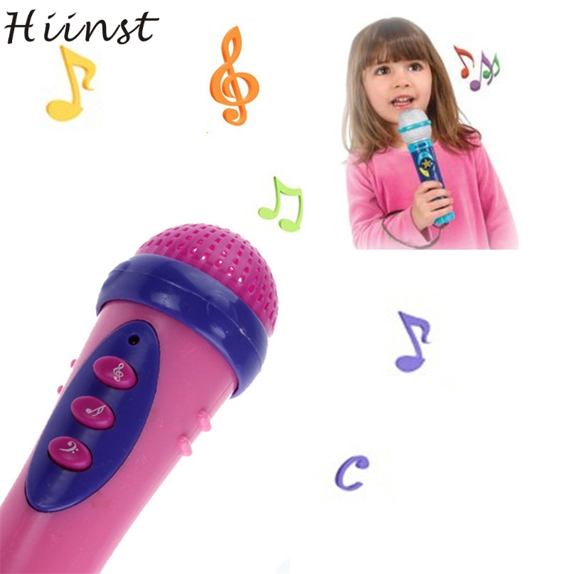HIINST Modern Cute Girls Boys Microphone Mic Karaoke Singing Funny Gift Music Toy For Kids Children  H26