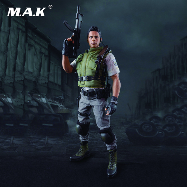 Free Shipping 1/6 Scale Resident Evil Chris Redfield Full Set Action Figure With Box for Collections Gifts Toys