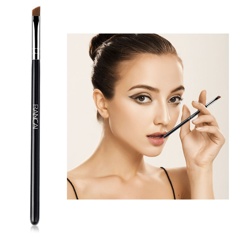 Angled eyebrow brush synthetic hair professional makeup brushes (6)