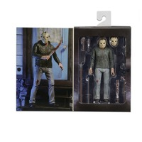 Friday The 13th Pamela Action Figure The Final Chapter Jason and Mask Saw Axe Sword Knife Horror Model Doll