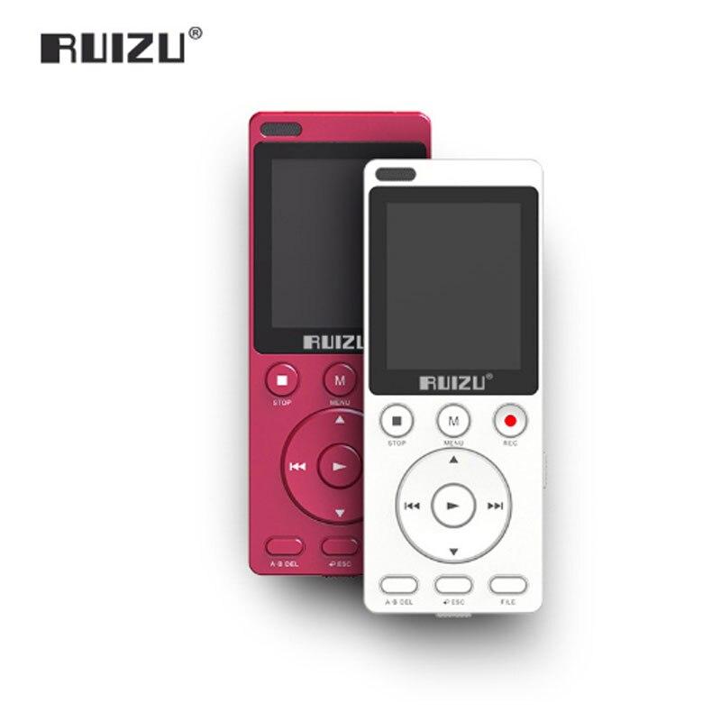 Ruizu K11 8 Gb Mp4 Musik-player Portable Digital Voice Recorder Eingebauten Lautsprecher Tf-karte-ab Wiederholen Für Studie Um Zu Helfen Tragbares Audio & Video Fettiges Essen Zu Verdauen Unterhaltungselektronik