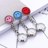 Men's Pocket Watch Women's Watch Nurse Table Smiley Gift Nurse Hanging Table Fashion Smiley Electronic Quartz Pocket Watch