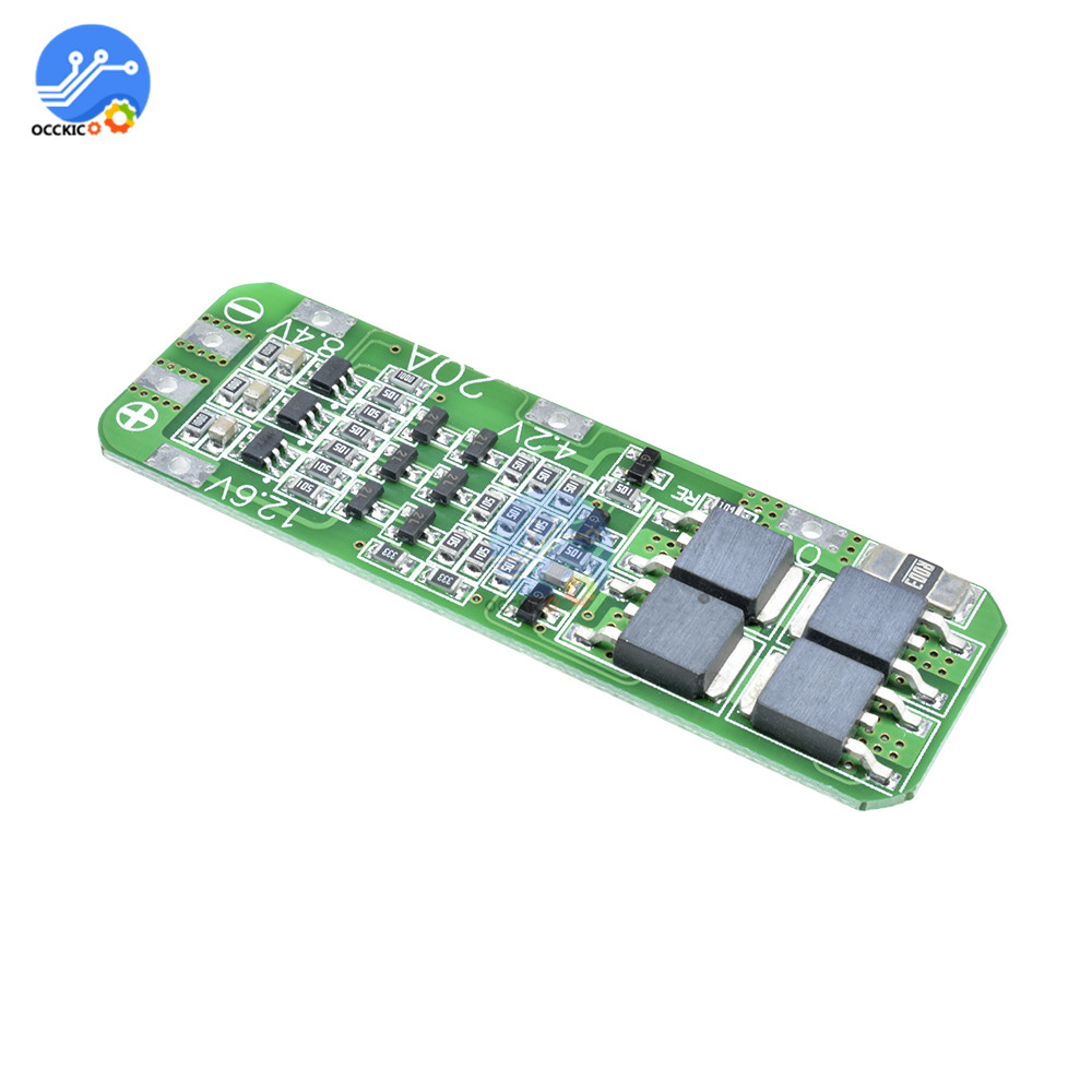 BMS 3S 12.6V 20A 18650 Lithium Battery Charger Protection Board Power Bank Battery Balancer For Motor Drill