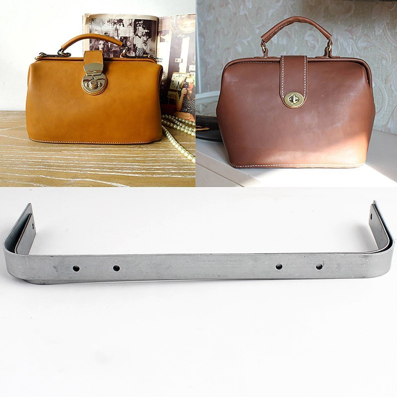 35/41/45/49cm Full Specifications Frame For Purse 20mm Width Major Doctor Purse Frame Metal Frame Bag Handle Frame With Screw
