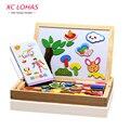 Многофункциональный образовательный деревянный магнитный набор, игрушки для детей, доска для рисования, быстрая доставка