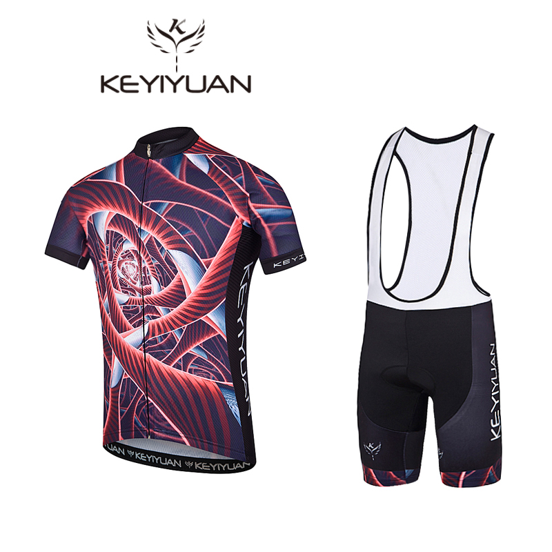 2018KEYIYUAN Cool Bikes MTB Cycling cycling Cycling sets cycling summer shirt Cycling Jersey Set