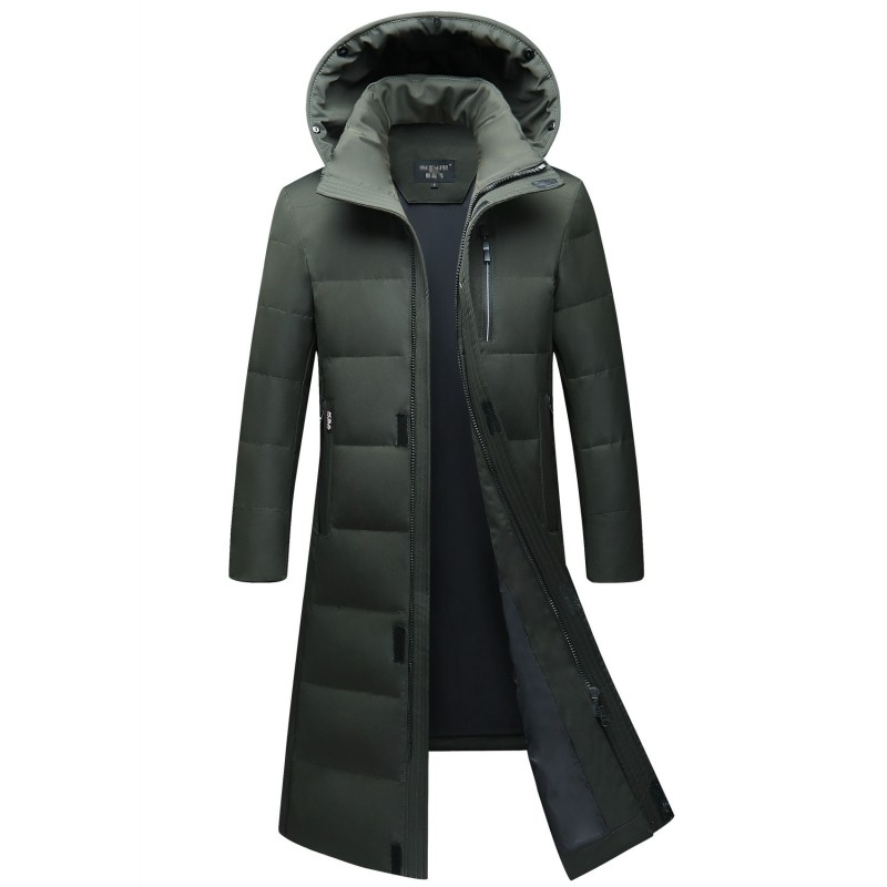 Men's Clothing Jackets & Coats Hard-Working 2019 Winter New Brand Raccoon Collar Mens Park Jacket Mens Long Hooded Padded Fashion Warm Jacket More Size M-4xl 5xl 6xl