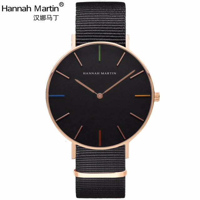 Hannah Martin Designer Watch Men Womens Watches Fashion Casual Top Brand Luxury