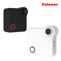 2017 New Mini Wifi IP Camera 720P HD Body Wearable Camera Motion Detection Action Camera Small