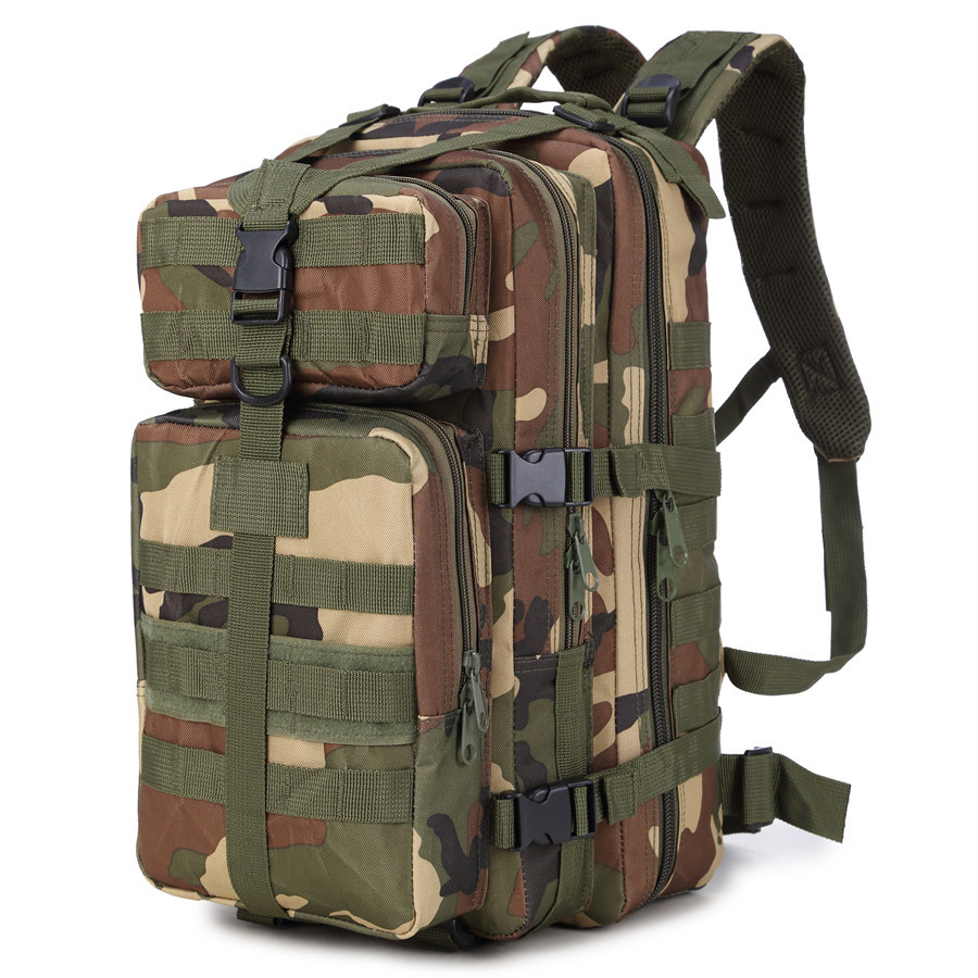 Aokali 35L Mutifunction Tactical Backpack Outdoor Military Bag Waterproof Nylon Molle Unisex Cycling Hiking Sport Climbing Bag 35l waterproof tactical backpack military multifunction high capacity hike camouflage travel backpack mochila molle system