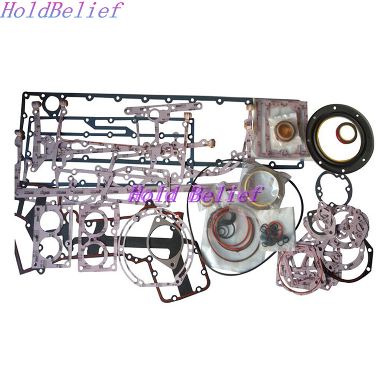 K19 KTA19 Complete O/H Engine Lower Gasket Kit 3801007 4089391 4089390