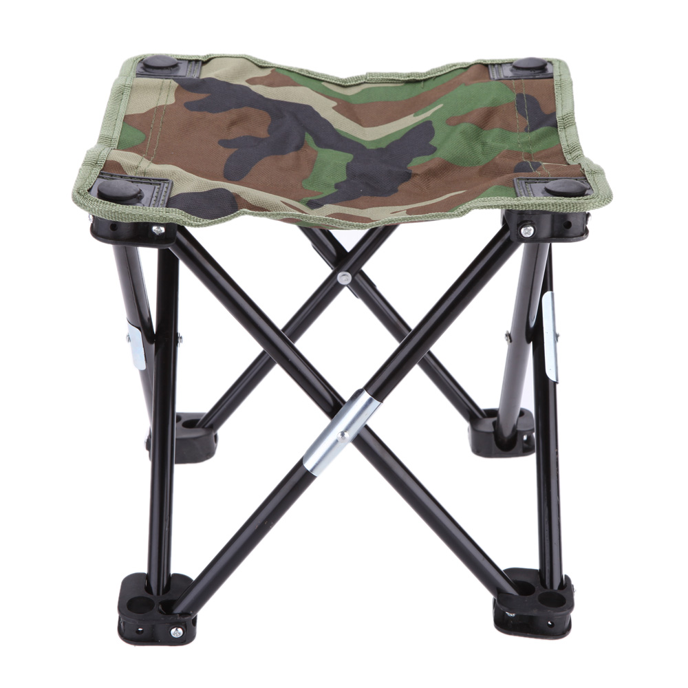 Fishing Chair Ebay Best Hammock Stand Oa 28 23cm Foldable Portable Outdoor Camping Stool Camouflage