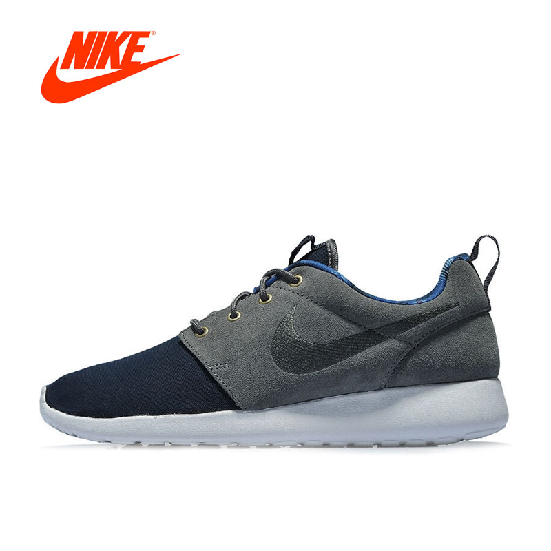 New Arrival Original Authentic NIKE ROSHE ONE PREMIUM Men's Breathable Running Shoes Sports Sneakers Comfortable