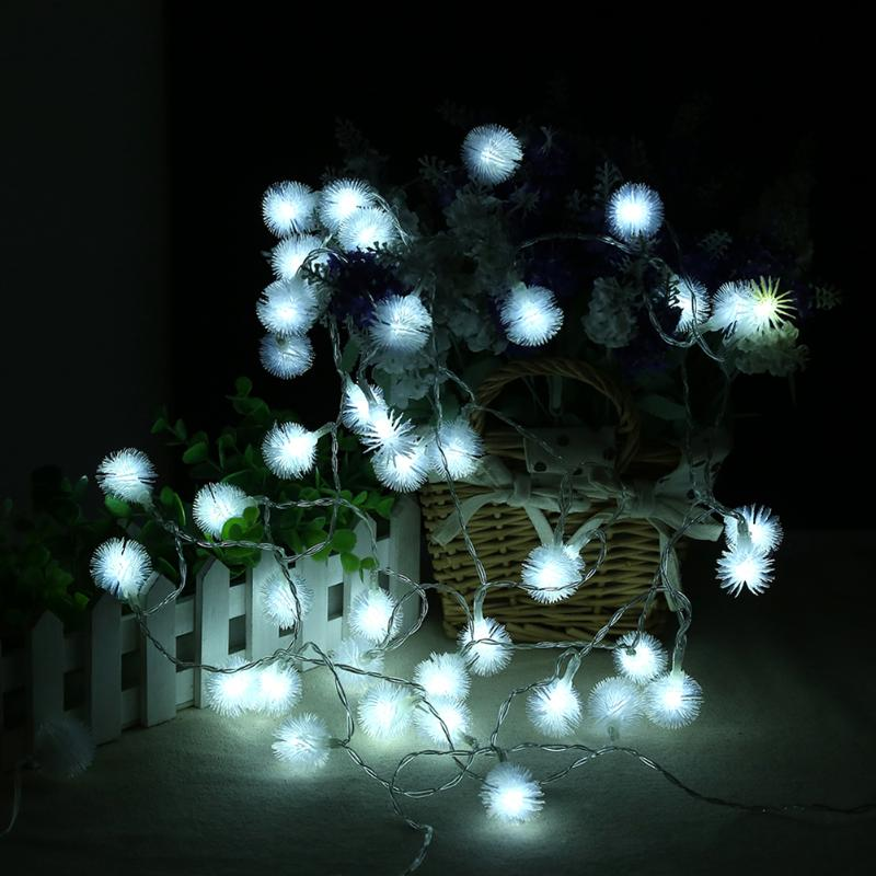 Us 3 15 19 Off Christmas Tree Garland Rainbow Fairy Lights Home Garden Decoration Led String Lighting Warm White Battery Power In Lighting Strings