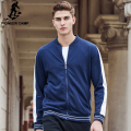 Pioneer Camp new Spring hoodies men brand clothing blue men zipper hoodies top quality fashion casual sweatshirts male 622192