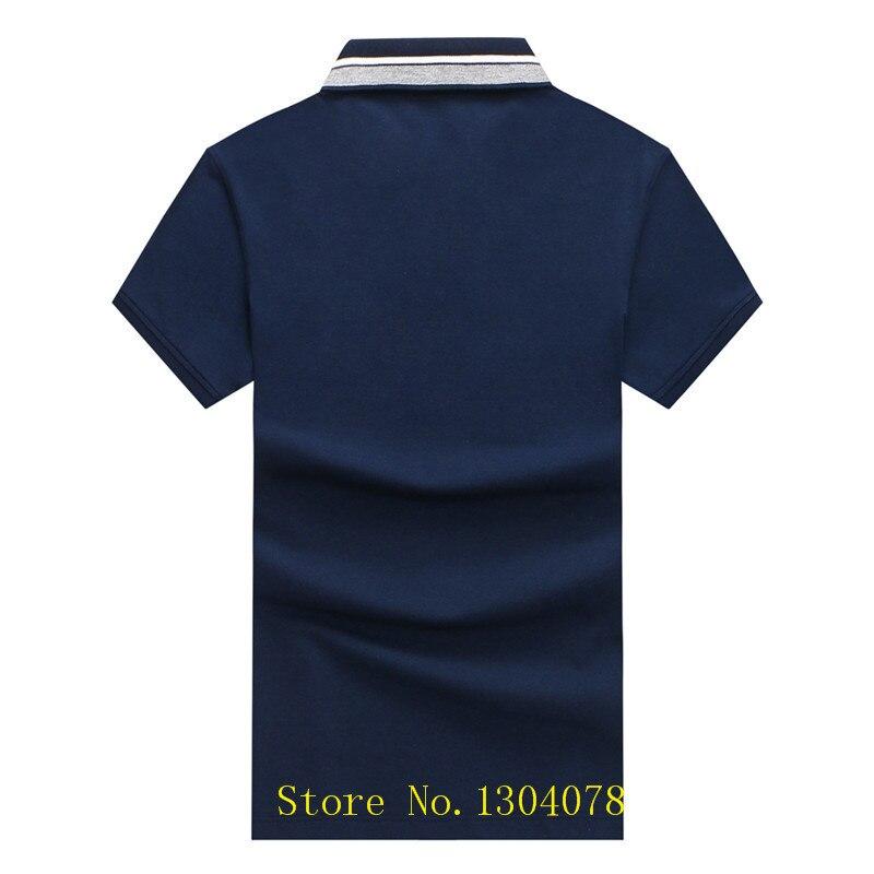 2018 Golfed Logo Polo Shirts Men solid cotton shirt Tack Shark male polo shirt Short Sleeve breathable Outwear Jerseys