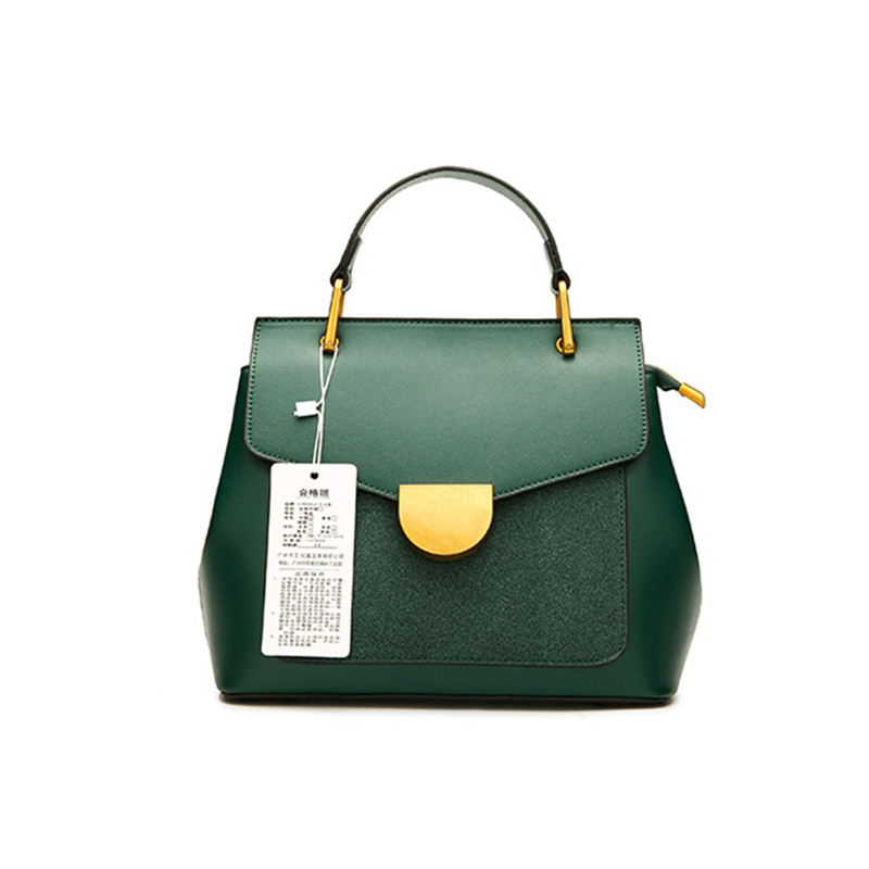 Luxury Designer Genuine Leather Women Bag Handbags Famous Brand Women Green Tote Shoulder Bags Cow Leather Women Purse Hand Bags qiwang china brand handmade leather bag luxury handbags famous brand tassel women bags made in china flower tote bag purse