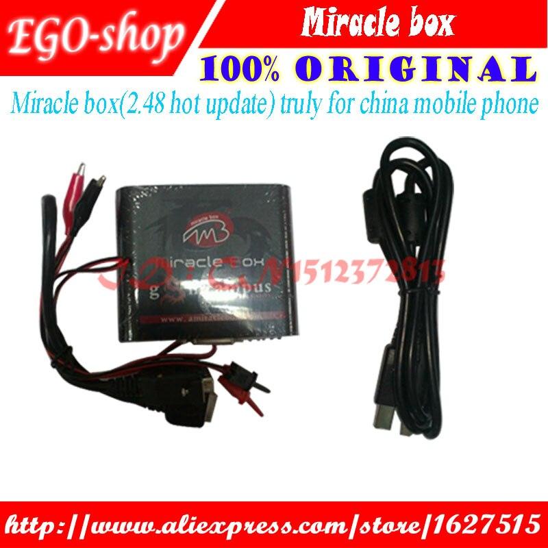Boîte Miracle originale gsmjustoncct pour déverrouillage de téléphone mobile en chine + Flash + boîte de déverrouillage de réparation