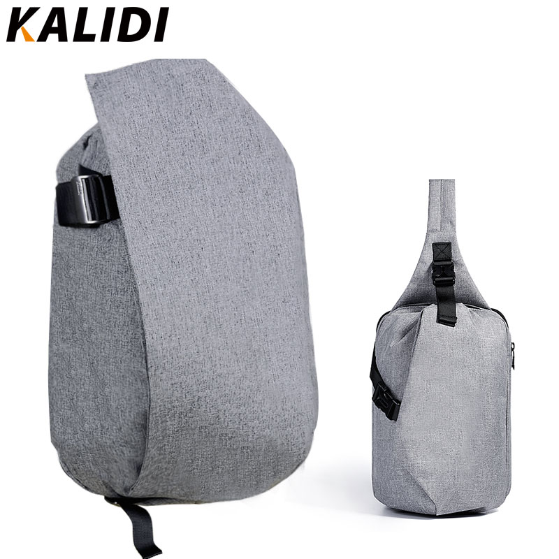 KALIDI 2pcs Set Backpack & Chest Back Pack Waterproof Large Capacity Men and Women Unisex Casual School Rucksack Travel Bags large capacity backpack laptop luggage travel school bags unisex men women canvas backpacks high quality casual rucksack purse
