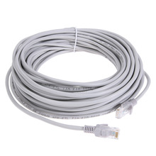 15/20/25/30m High Speed RJ45 Ethernet Cable Network LAN Cable Router Computer Flat Cat5 Network Cables